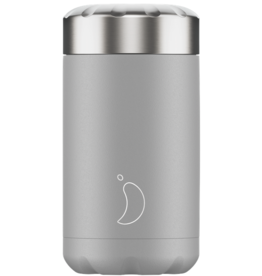 Chilly's Chilly's Bottles,  Food Pot, monochrome light grey, 500ml