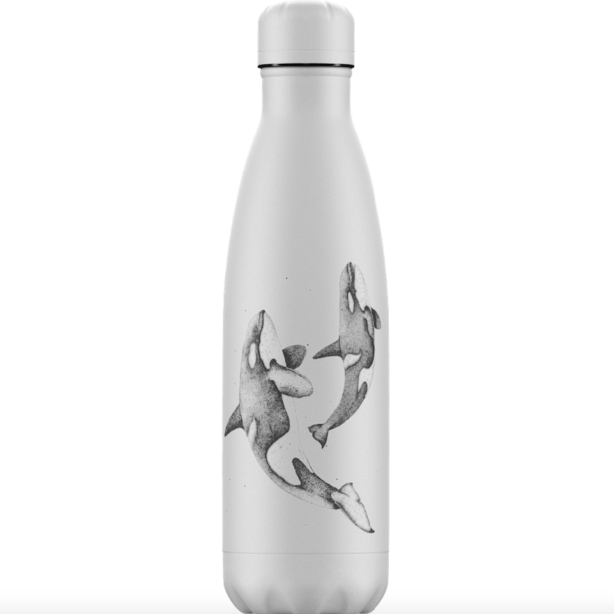 Chilly's Chilly's Bottles, Sea Life, Orca, 500ml