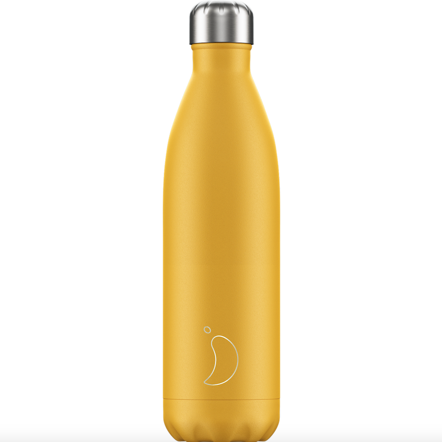 Chilly's Chilly's Bottles, Matte edition, Burnt yellow, 750ml