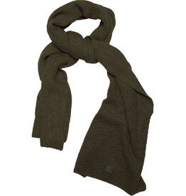 KnowledgeCotton Apparel KnowledgeCotton, Ribbing Scarf, forrest, OneSize