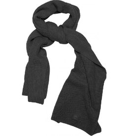 KnowledgeCotton Apparel KnowledgeCotton, Ribbing Scarf, gray, OneSize