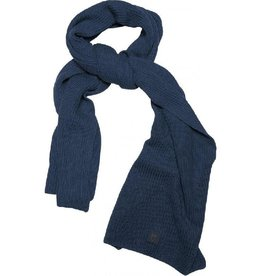 KnowledgeCotton Apparel KnowledgeCotton, Ribbing Scarf, navy, OneSize