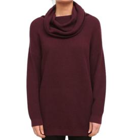 Iriedaily Iriedaily, Mock Turtle Knit, maroon, L