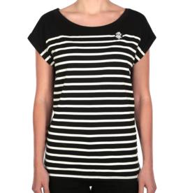 Iriedaily Iriedaily, Panda Stripe Tee, black, S