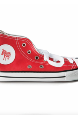 Donkey Products Donkey Products red, sneaker pencil case