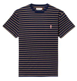RVLT RVLT, 1056 striped t-shirt, navy-mel., M