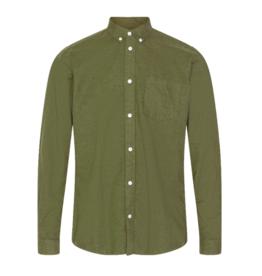 Minimum Minimum, Jay 2.0 Shirt, fir green mel., L