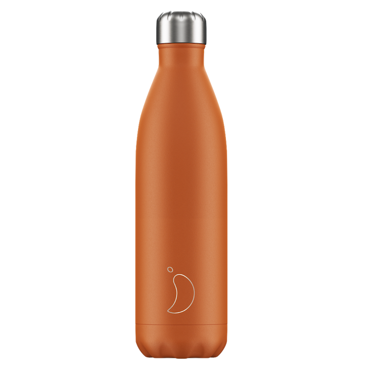Chilly's Chilly's Bottles, Matte Edition, burnt orange, 750ml