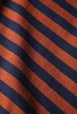 Dedicated Dedicated, Stockholm Stripes, mocha brown, S
