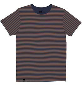 Dedicated Dedicated, Stockholm Stripes, mocha brown, XL