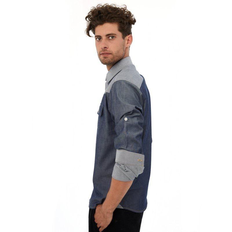 Einstoffen Einstoffen, Hemd, Sailor Ripley, blau, XL