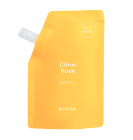 Haan HAAN, Hand Sanitizer REFILL Pouch, Citrus Noon