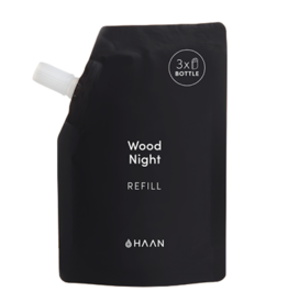 Haan HAAN, Hand Sanitizer REFILL Pouch, Wood Night