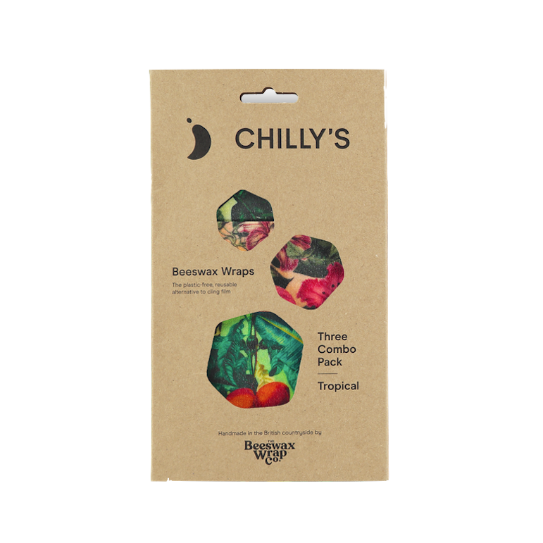Chilly's Chilly's Bottles, Beeswax Wrap, 3er Pack