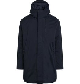 KnowledgeCotton Apparel KnowledgeCotton, Climate shell Jacket, total eclipse, S