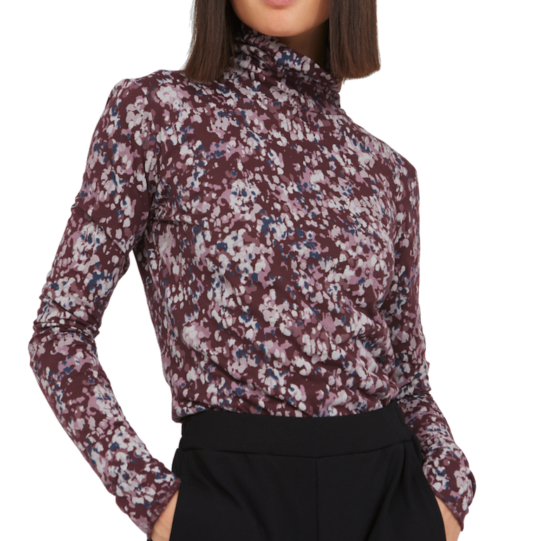Armedangels, Malenaa early blossoms, aubergine, S