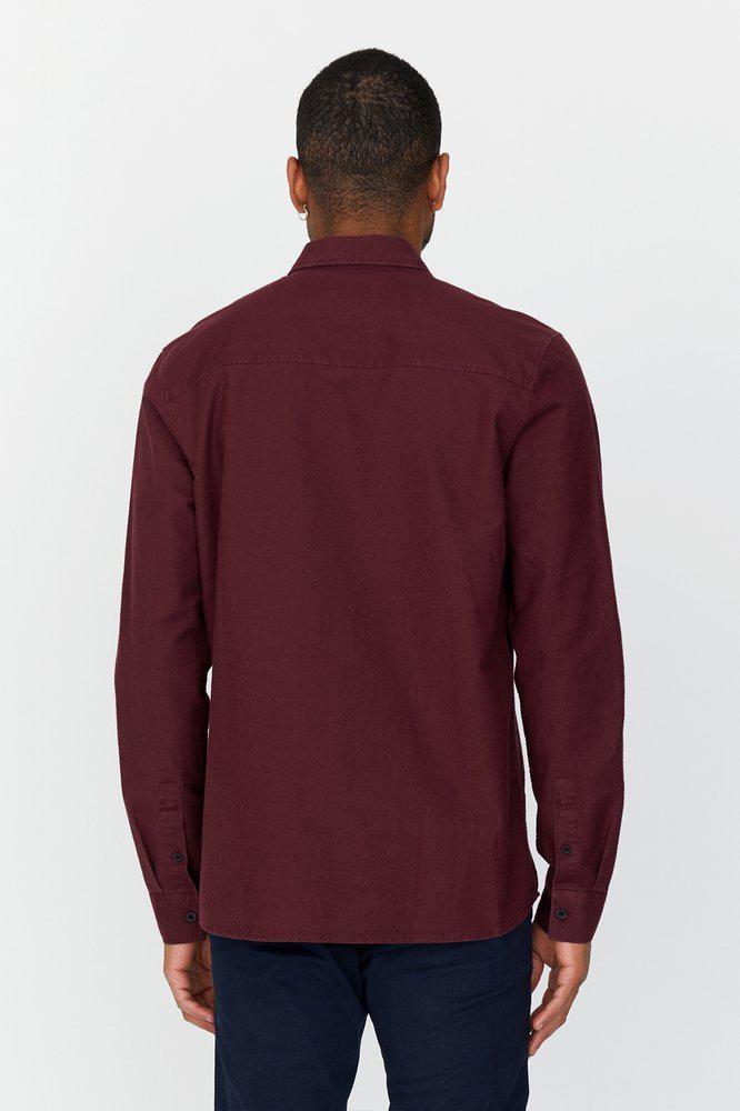 Dr.Denim Dr.Denim, Dale Shirt, mulberry wine, XL