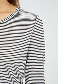 armedangels Armedangels, Larenaa stripes, black-oatmilk, XS