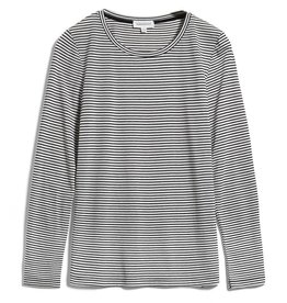 armedangels Armedangels, Larenaa stripes, black-oatmilk, S