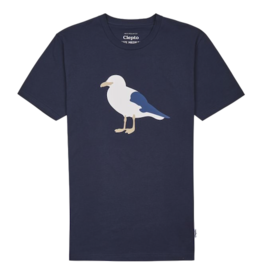 Cleptomanicx Cleptomanicx, T-Shirt, Gull 3, navy, M