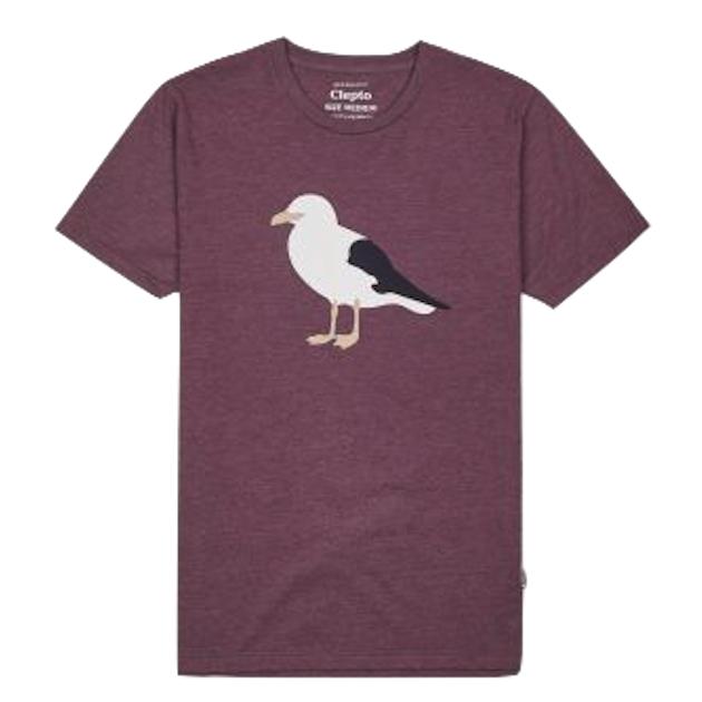 Cleptomanicx Cleptomanicx, T-Shirt, Gull 3, heather crushed, L