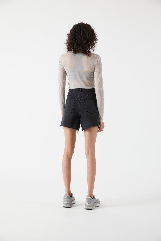 Dr.Denim Dr.Denim, Nora shorts, charcoal black, 26
