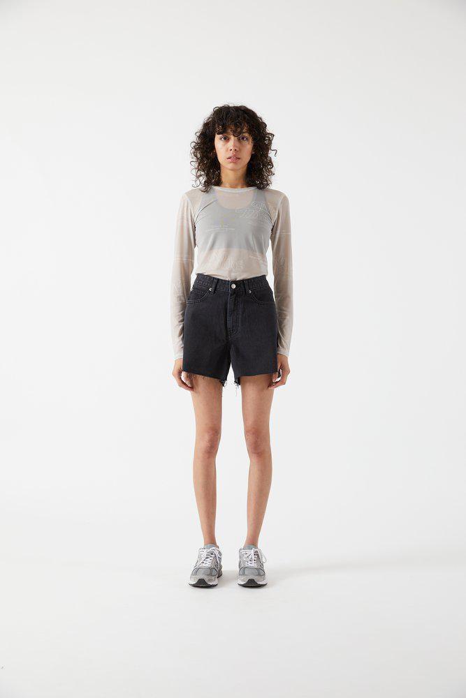 Dr.Denim Dr.Denim, Nora shorts, charcoal black, 29