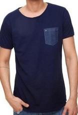 Einstoffen Einstoffen, Gloomy Dusk T-Shirt, blau, M