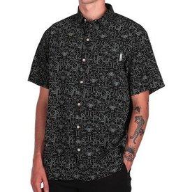 Iriedaily Iriedaily, Sambasa Shirt, black, S