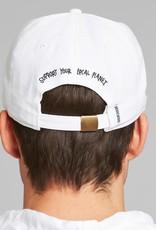 Dedicated Dedicated, Cap Globe, white