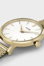 Cluse Cluse, Boho Chic Petite Mesh, gold/ white