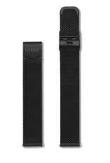 Cluse Cluse, Minuit Mesh Strap (16mm), black