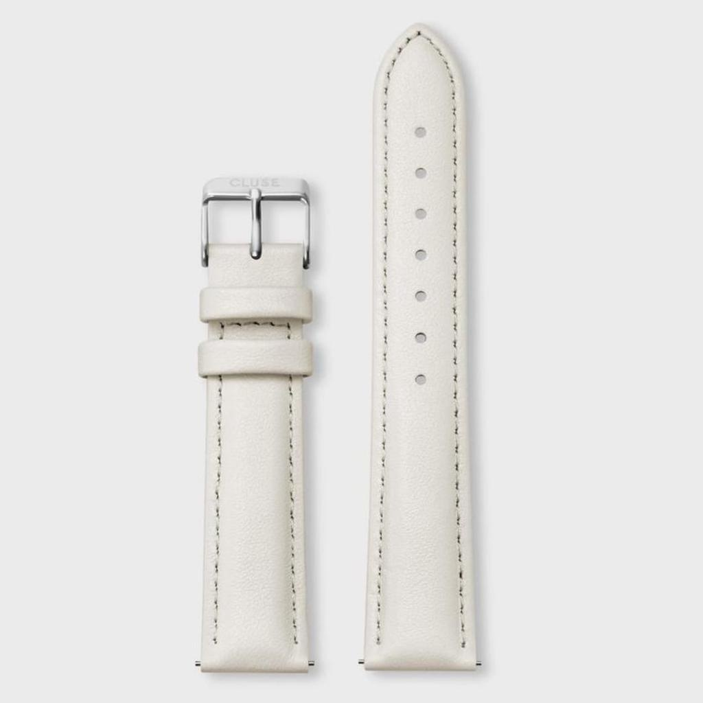 Cluse Cluse, Boho Chic, Strap (18mm), offwhite/ silver