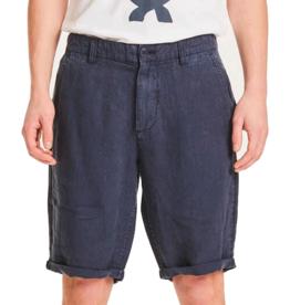 KnowledgeCotton Apparel KnowledgeCotton, Chuck loose linen shorts, total eclipse, 30