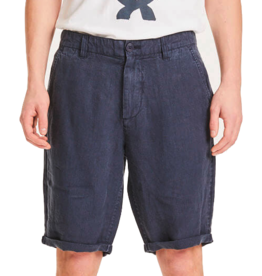 KnowledgeCotton Apparel KnowledgeCotton, Chuck loose linen shorts, total eclipse, 34