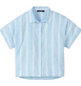 Recolution Recolution, Frauen Blouse stripes, dusk blue-white, L