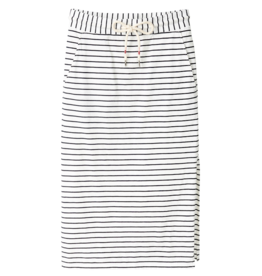 Recolution Recolution,Midi skirt Stripes, navy/ white, XS