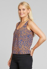 Dedicated Dedicated, Top Lolland Leopard, light brown, L