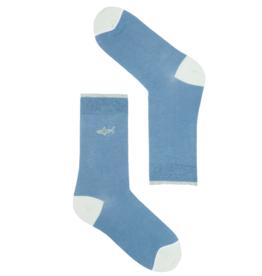 Recolution Recolution, Basic Socks, shark, blue heaven, 35-38
