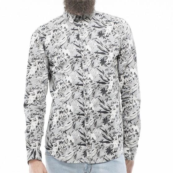 Dr.Denim Dr. Denim, Pine Regular Shirt, light grey, L