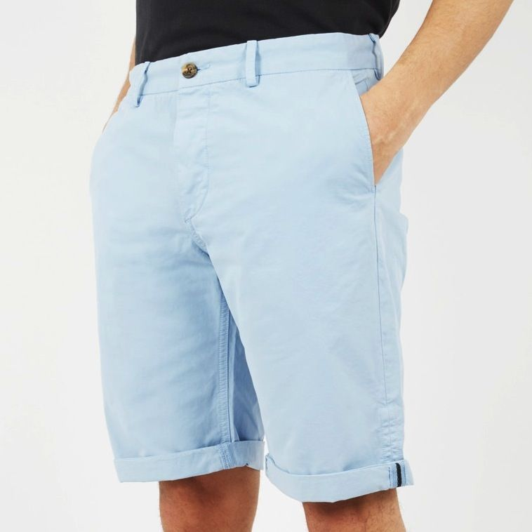Ben Sherman,Doddy Slim Short, sky blue, 34