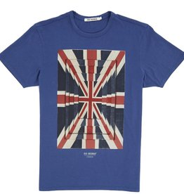 Ben Sherman, Union Optic Tee, washed blue, L