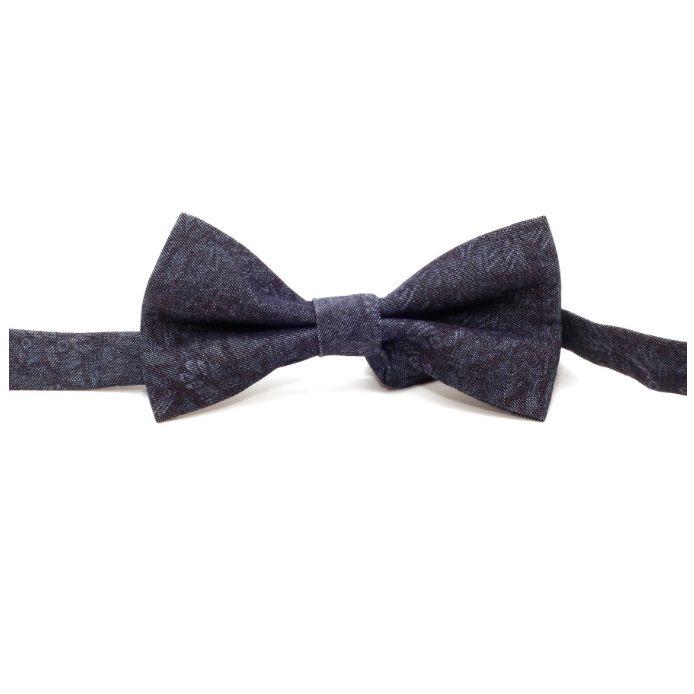 Einstoffen Einstoffen, Clarence Worley Fliege, dunkelblau/hellblau