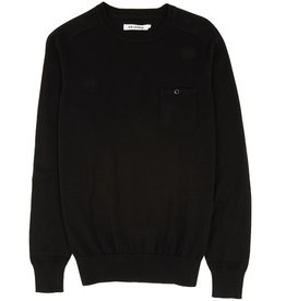 Ben Sherman, The Crew Neck, jet black, M