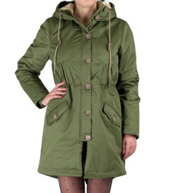 Rules by Mary, Debbie Parkas, Khaki Green, S