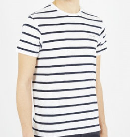 Ben Sherman, T-Shirt, Bright White/Stripe, M