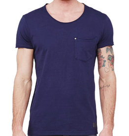 Minimum Minimum, Bradley Tee, Navy, XL