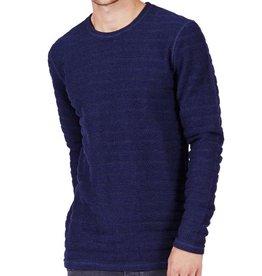 Minimum Minimum, Greenville Sweater, dark iris melange, XL
