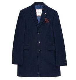 Ben Sherman Ben Sherman, Covert Coat, Navy Blazer, M