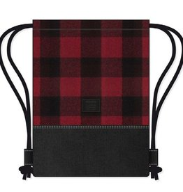 Kollegg Kollegg, Bag, two-tones plaid, rot/schwarz